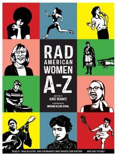 COMING SOON - Availability: http://130.157.138.11/record= Rad American Women A-Z / Kate Schatz