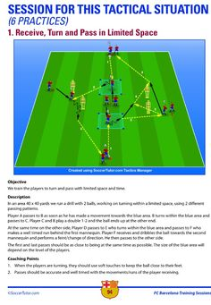 Barca drill of the day