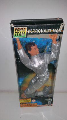 12 INCH GI JOE / ACTION MAN KO - POWER TEAM ASTRONAUT MAN - MIB OVP BOXED RARE | Toys & Hobbies, Action Figures, TV, Movie & Video Games | eBay!