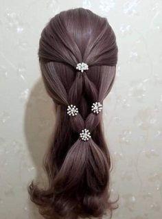 32 Ideas For Hair Braids Kids Pony Tails Diy Haircut, Pinterest Hair, Doll Hair, Hair Designs, Prom Hair, Braided Hairstyles, Party Hairstyles, Trendy Hairstyles, Heatless Hairstyles