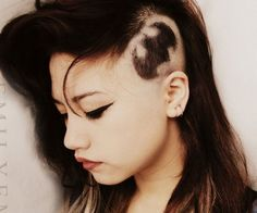 Shaved Hair Designs for Women, Have you seen the latest trend of undercut hair designs for women? For ladies who like bringing something new and different hair ideas to the table, . Best Undercut Hairstyles, Hipster Hairstyles, Shaved Hairstyles, Undercut Women, Boys Undercut, Goth Hairstyles, Hairstyle Pics, Undercut Hair Designs, Shaved Hair Designs
