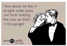 Story of my dirt trackin' life!
