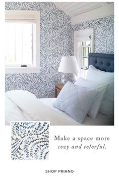 We love the way wallpaper can really wake up your look. Here, 3 ideas to inspire you...
