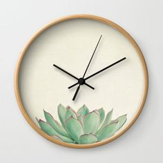 Order the Wall Clock – Echeveria for your home or office. Find creative products including artistic one-of-a-kind wall clocks at the Apollo Box. Wall Clock Frame, Wall Clock Design, Clock Art, Diy Clock, Clock Decor, Diy Wall Decor, Clock Ideas, Clock Painting, Wall Watch