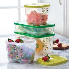 FridgeSmart® 4-Pc. Set. Maximize the freshness of your produce all season long.