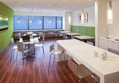 wm | new jersey designed this 9,000 SF office space that has collaborative spaces and a design that will facilitate an alternative workplace strategy.