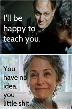 Love this. Carol Walking Dead Melissa McBride