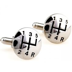 Funny Car Accessories Cufflinks. Great idea for the car enthusiast! www.blackbookactivator.com