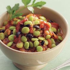 Mediterranean Lima Beans serves 8 as a super-healthy, super-fast, incredibly cost-effective main dish.
