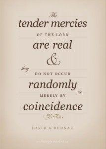 """""""Tender Mercies of the Lord"""" ~David A. Bednar (Free Printable!)"""