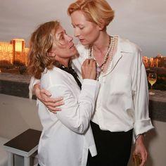 Frances McDormand et Tilda Swinton