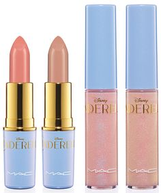MAC Cinderella Lipsticks and Lipglass