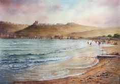 John Martin, Waves, Paintings, Landscape, Outdoor, Outdoors, Scenery, Paint, Painting Art