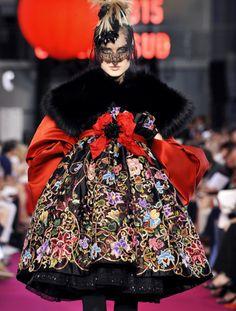 Christian Lacroix haute couture f/w 2008