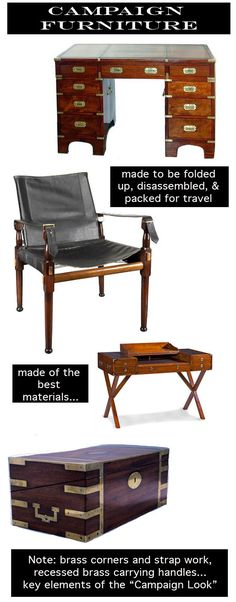 Campaign Furniture/Courtney Price Design