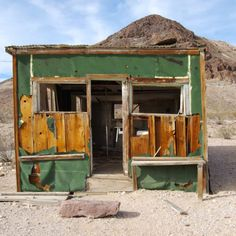 Rhyolite Historic Townsite (ghost town) Beatty Nevada