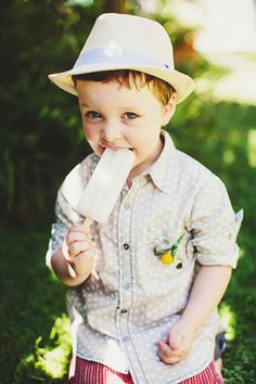 brides of adelaide magazine - ring bearer | ah he's so cute! no hat.