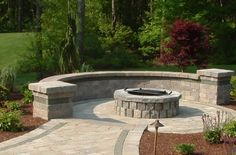 Fire Pit - Clarkston, MI - Photo Gallery - Landscaping Network