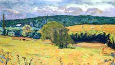 Dauphine Landscape, 1915 (oil on canvas), Bonnard, Pierre (1867-1947)