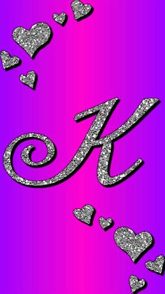 K by gizzzi Monogram Wallpaper, Alphabet Wallpaper, Name Wallpaper, Flower Phone Wallpaper, Heart Wallpaper, Galaxy Wallpaper, K Letter Images, Alphabet Images, Cool Alphabet Letters