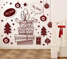 Estas Navidades os traemos unas geniales ideas para poder decorar las paredes de tu hogar con