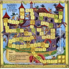 Castle Board Game plus 13 Free Printable History Board Games