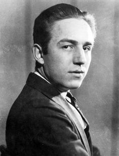 A young Walt Disney