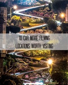 10 Car Movie Filming Locations Worth Visiting - you have to see some of these iconic places! #spon #travel #movies Travel Movies, Us Travel, Iconic Movies, Love Car, Filming Locations, Car Car, Amazing Cars, Places To See, Places To Travel