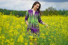 Sukienka Savanna African Wax Print - UFUNDI - Sukienki