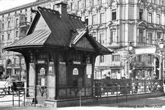 Historische Fotos: Berlins bedeutendster U-Bahnarchitekt baute diese Bahnhöfe