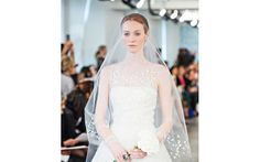 Wedding Dress from Oscar De La Renta's Spring 2014 collection, photos by Joy Marie Studios
