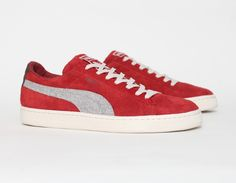 #Puma Suede Rugged Red