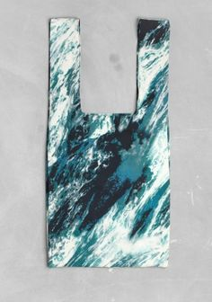 OCEAN PRINT SHOPPER