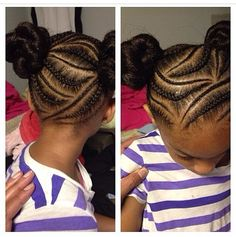Braided Hairstyles For Little Girls So Adorable Via Tiff_Styles  Httpsblackhairinformation
