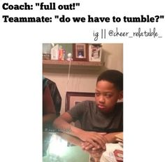 Are you kidding me. Do you know what a full out is? Lol this is so true Funny Cheer Quotes, Cheer Funny, Cheer Stunts, Cheerleading, College Cheer, Towel Animals, All Star Cheer, Cheer Bows, Do You Know What