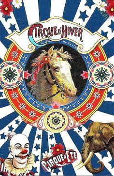 Vintage Circus Poster. Horse.   Nikos Vatopoulos   Flickr
