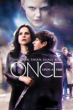 Awesome Regina Henry Emma Snow Charming on an awesome poster for awesome Once S5 The Dark Swan Shall Rise