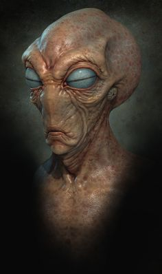 Alien or creature from naked lunch. Aliens And Ufos, Ancient Aliens, Alien Creatures, Fantasy Creatures, Creature Feature, Creature Design, Zbrush, Art Zombie, Grey Alien