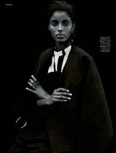 Editorial Culture --- Senait Gidey Black Fashion Models