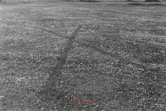 Richard Long, England, 1968 - (c) Richard Long. All Rights Reserved. Lisson Gallery, Richard Long, No Response, British, England, Country Roads, Photograph, Art, Photography