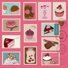 ilustrações de desenhos animados do vetor selos    http://br.freepik.com/vetores-gratis/ilustracoes-de-desenhos-animados-do-vetor-selos_594382.htm