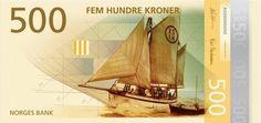Billets Norvégien 2017, thème : la mer Norvegian Living Space par The Metric System et Terje Tonnessen