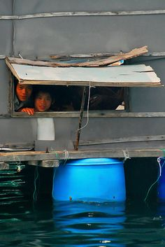 Floating house in Vietnam by bsmethers, via Flickr
