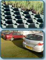 Bodpave® 40 Grass Pavers / Permeable Gravel Retention Pavers