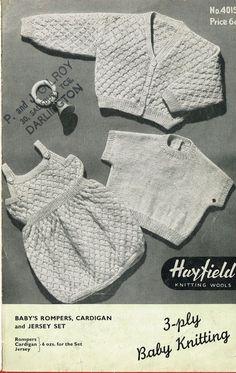 7fd07651f 80 Best Vintage kids knitting images in 2019