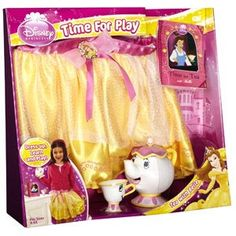 Disney Princess Time for Play Tea with Belle dress-up set
