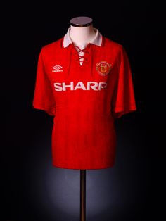 Manchester United home shirt 1992