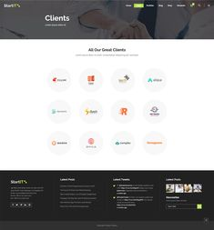 Showcase your tech business in no time with Startit WordPress theme. Types Of Technology, App Landing Page, Create Your Website, Building A Website, Layout Template, Start Up Business, Cryptocurrency, Wordpress Theme, Conference