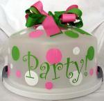 Super Cute Gift Idea.....Personalize it & Include the cake!