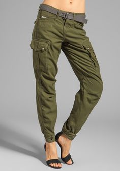 G-STAR Beach Rovic 3D Loose Pant in Bright Rovic Green